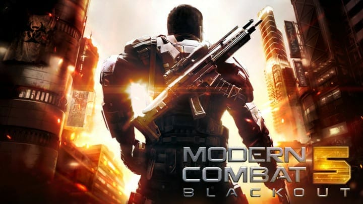 Modern Combat 5 Blackout for Nintendo Switch