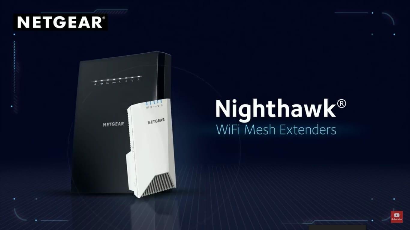 Nighthawk X6 Tri-Band WiFi Mesh Extender