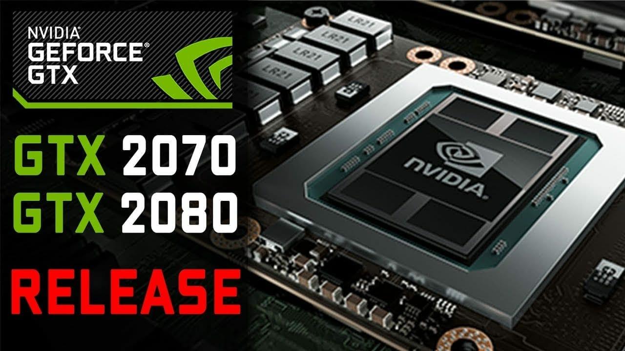 Nvidia GTX 2080 Specs