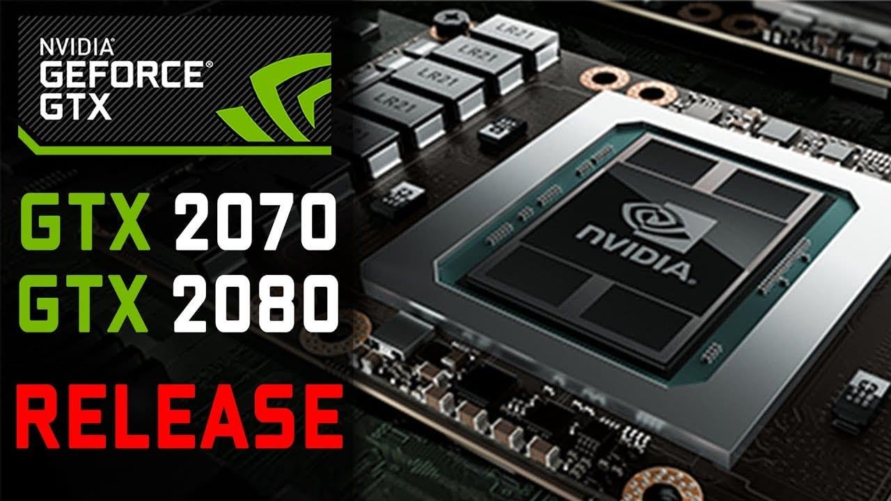 Nvidia GTX 2080 / 1180 Turing GPUs