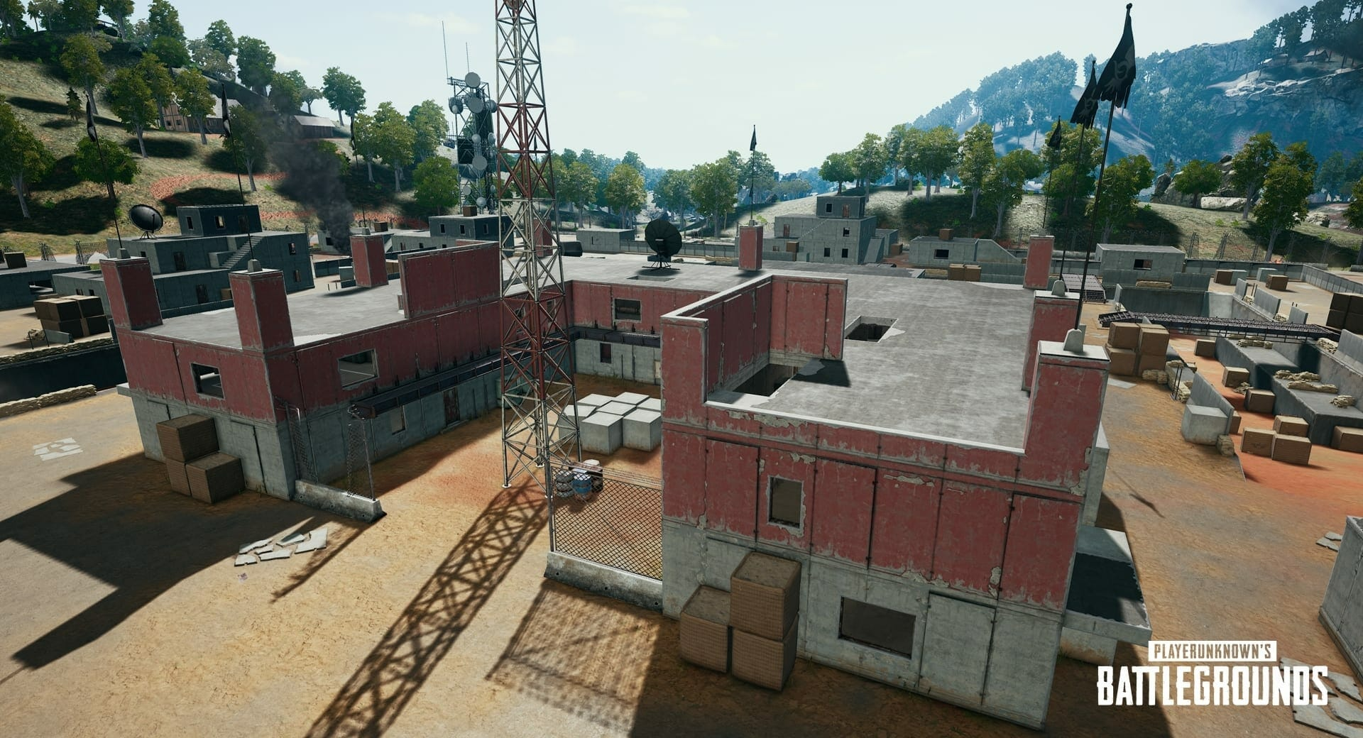 PUBG Exploit in Sanhok Map