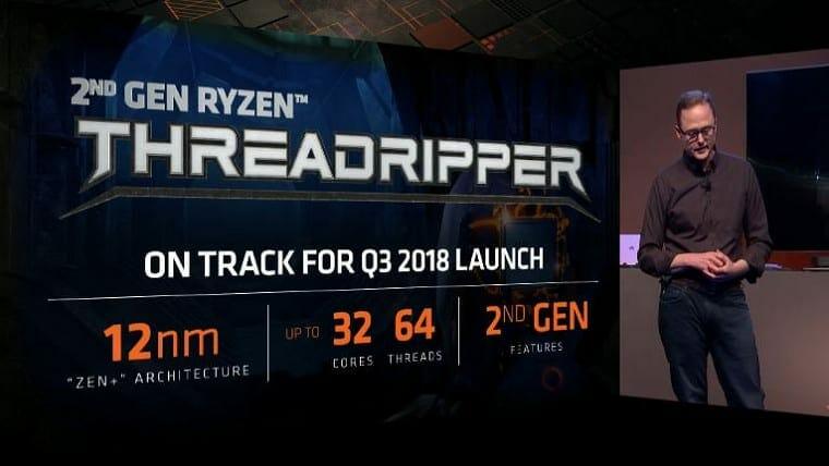 Ryzen 2000 32 core 64 threads Threadripper 2 - Ryzen 2000 32-core / 64-threads Threadripper based on 12nm+ Annoucned