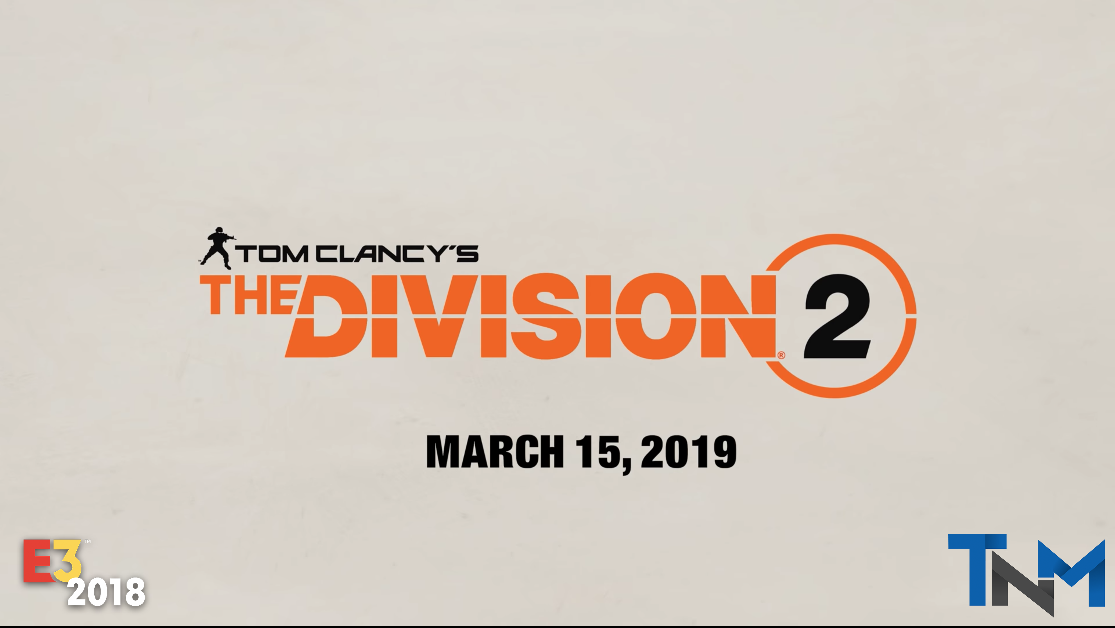 The Division 2 Gameplay E3 2018