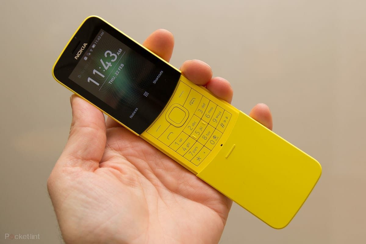 Soon You Will Be Able to Download Whatsapp on Nokia 8110 4G