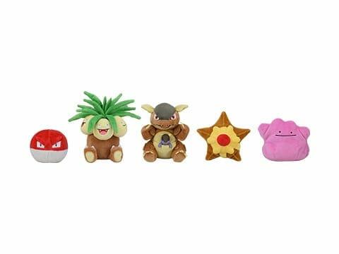 Pokemon Fit 151 Original Plushies
