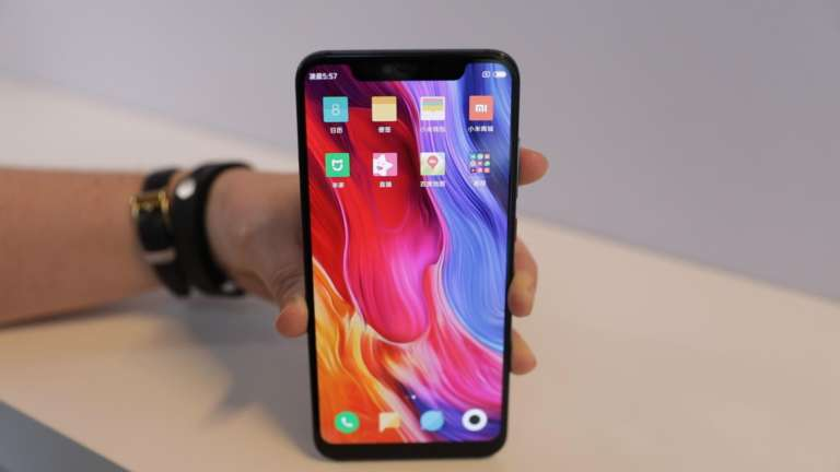 Xiaomi Phone with Notch
