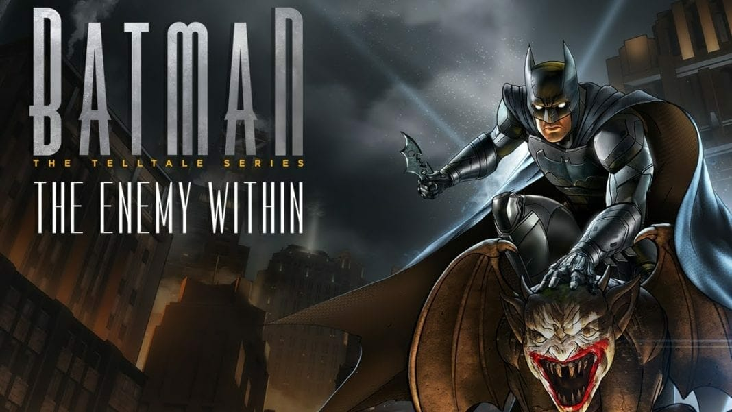 Batman The Enemy Within for Nintendo Switch
