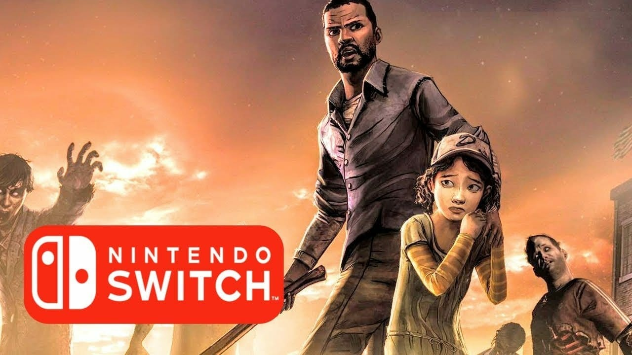 The Walking Dead Season 1 and 2 for Switch