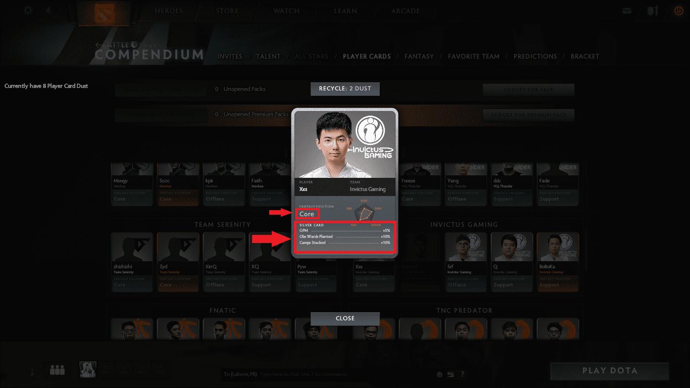 Dota 2 Battle Pass screenshot