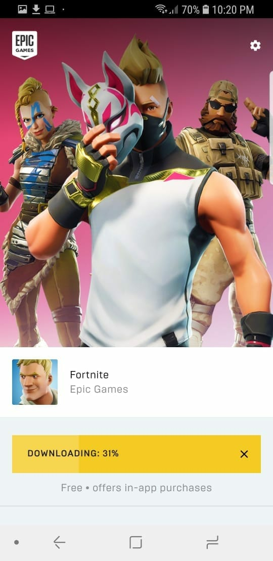 Fortnite 5.20 Android