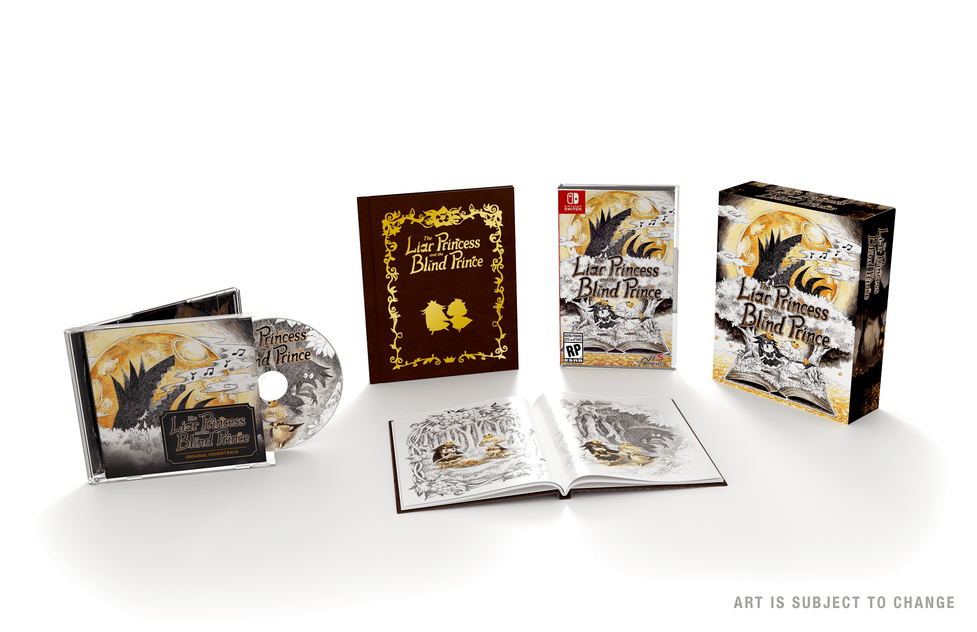 The Liar and the Blind Prince for Nintendo Switch