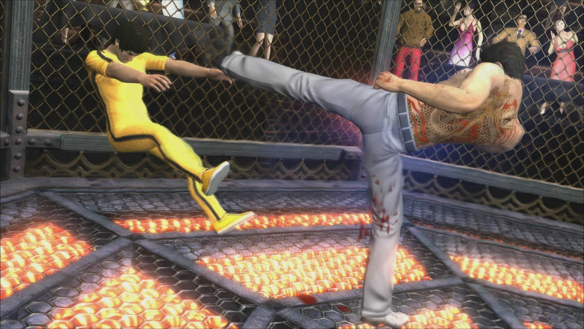 Yakuza 3 Remaster Screenshots Shows Cage Fighting With
