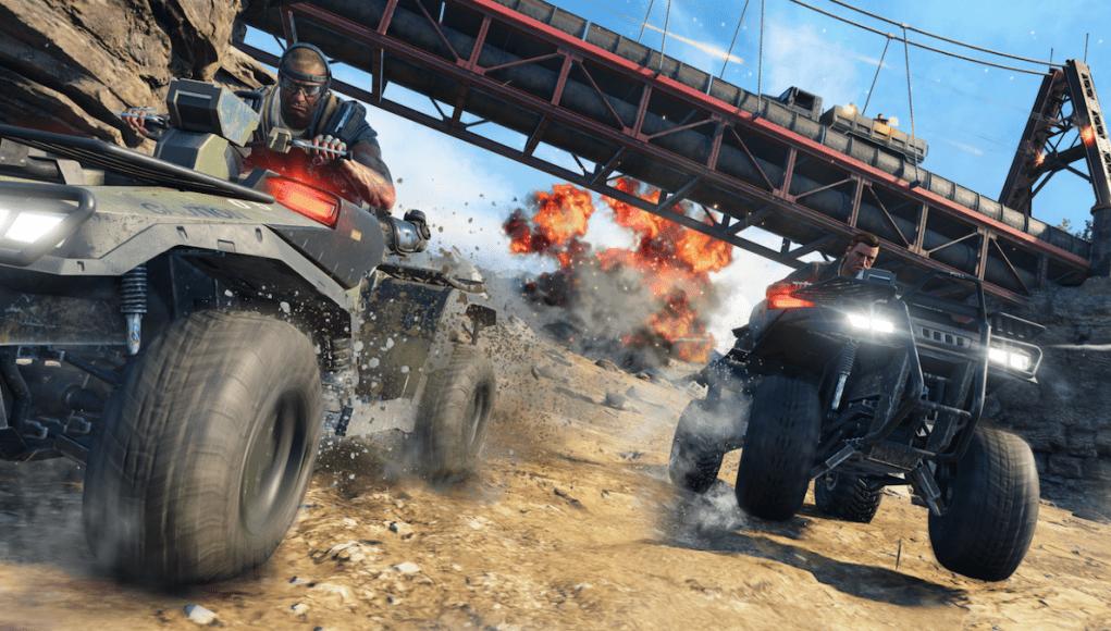 Black Ops 4 Blackout Vehicles