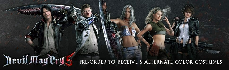 Devil May Cry 5 TGS 2018 Pre-order bonus
