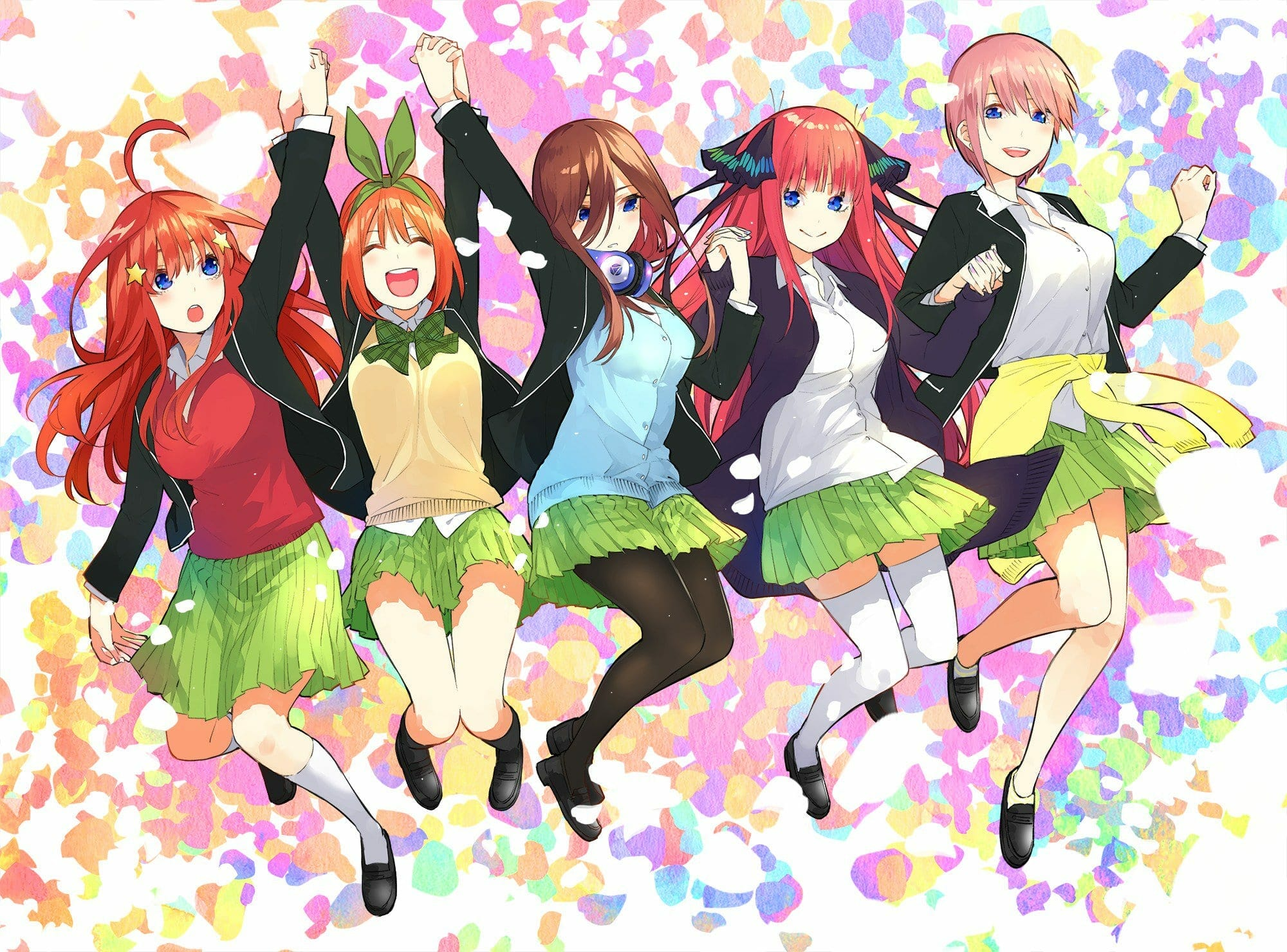 5 toubun no hanayome anime will be released in january 2019