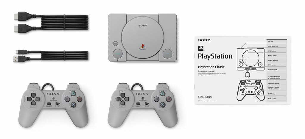 PlayStation Classic Console and Components