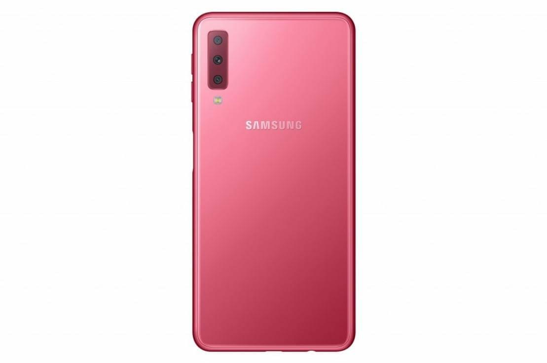 Samsung Galaxy A7 2018 Pink