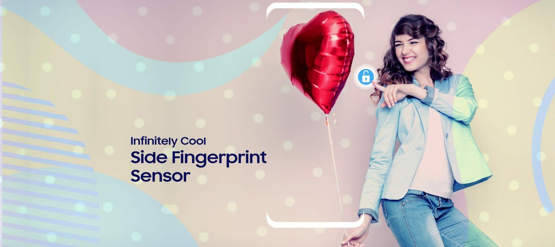Samsung Galaxy J6+ and J4+ Fingerprint