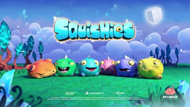 Squishies for PSVR