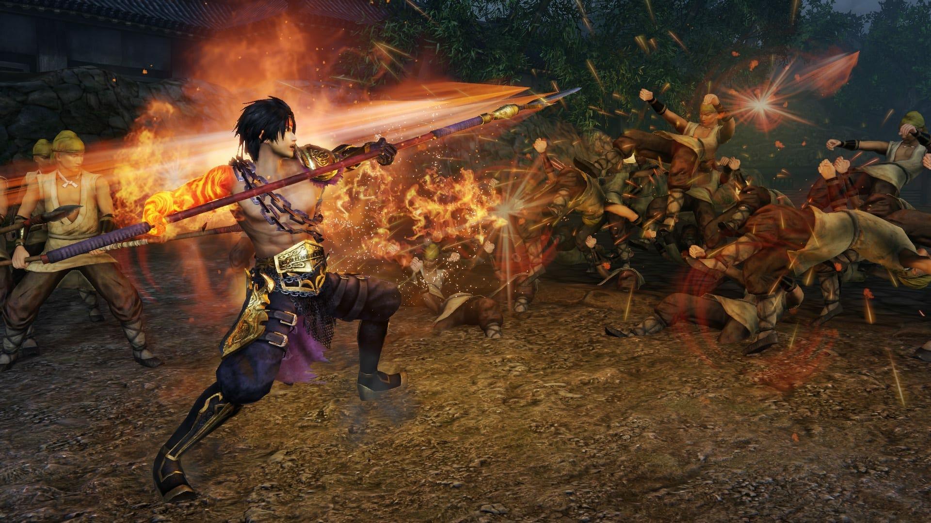 In-game screenshot of Warrior_Orochi 4