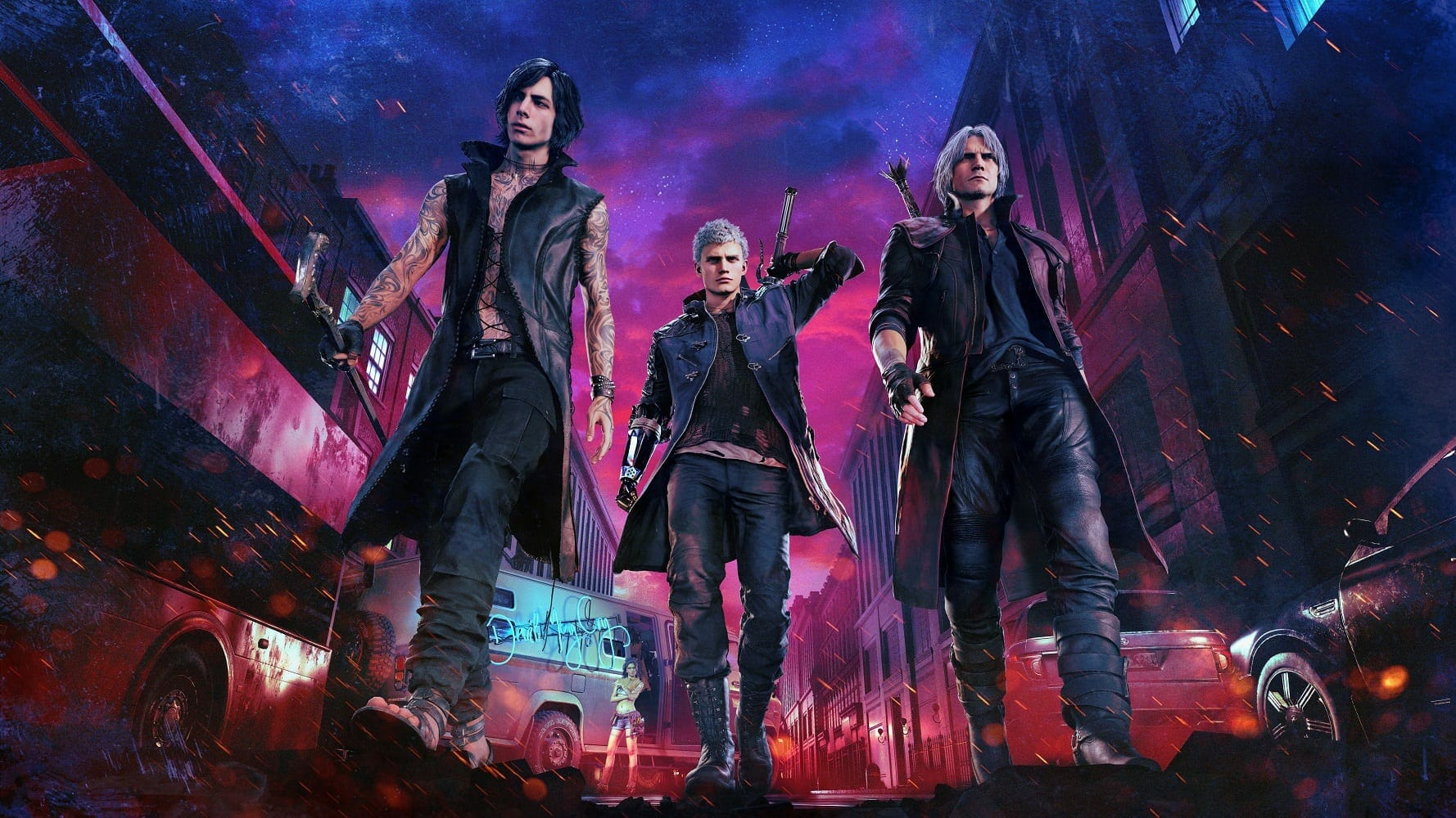 Devil May Cry 5 will run at 4k/60fps on PS4 Pro