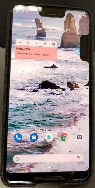 Pixel 3 problems