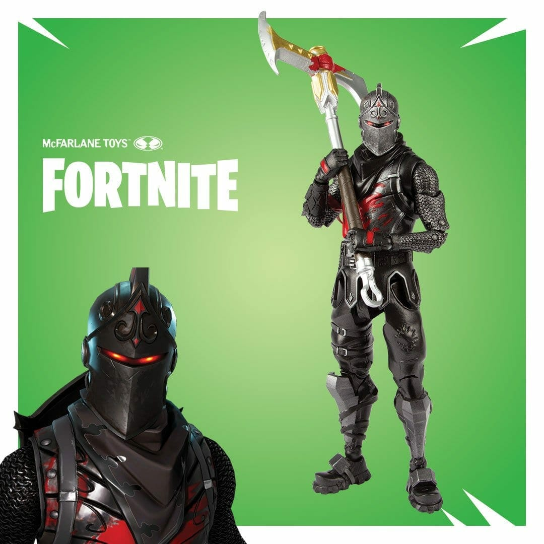 Fortnite Mcfarlane Toys Revealed Black Knight Cuddle Team Leader