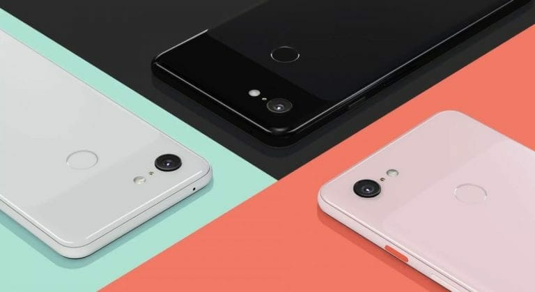 Google Pixel 3 Scratches