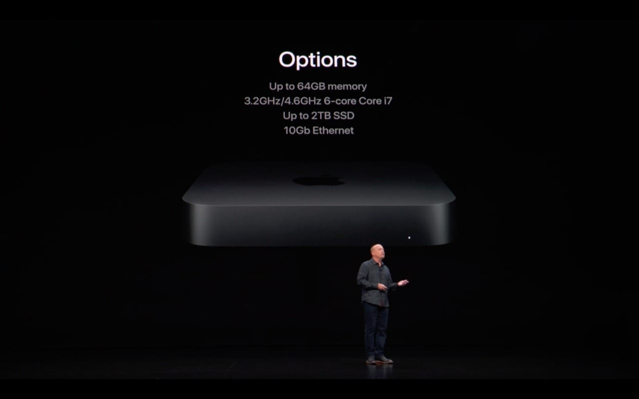 Apple Mac mini 2018 Options