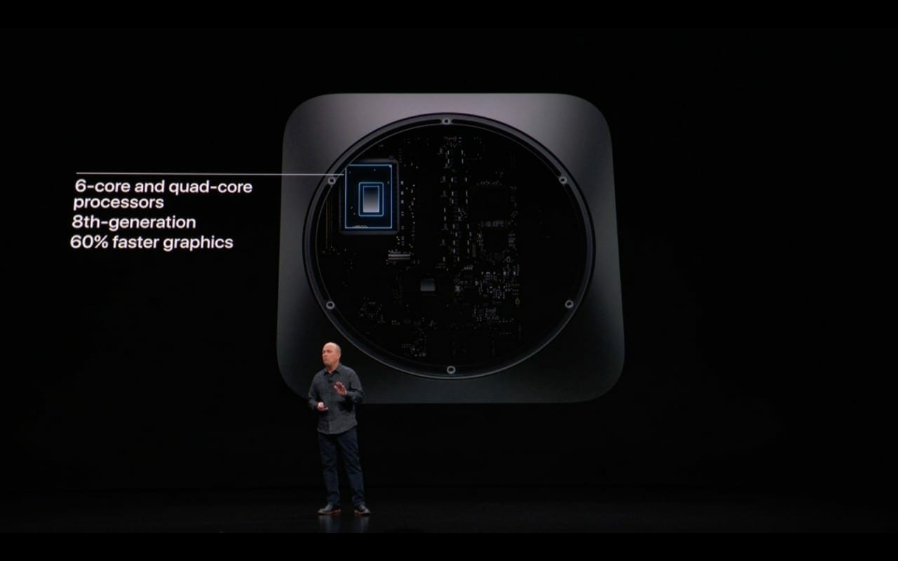 Apple Mac Mini 2018 specifications
