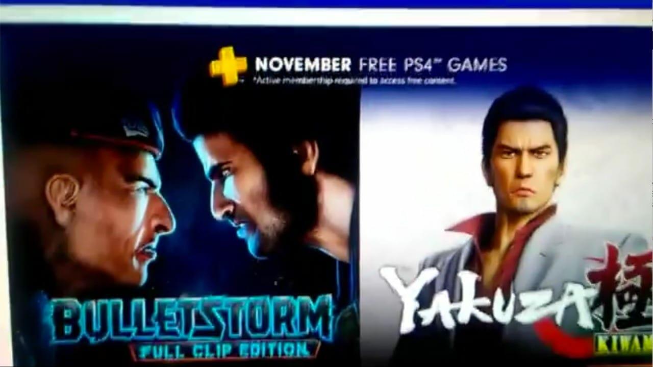 RUMOR: Free PlayStation Plus Games for November 2018 Leaked via Official Website