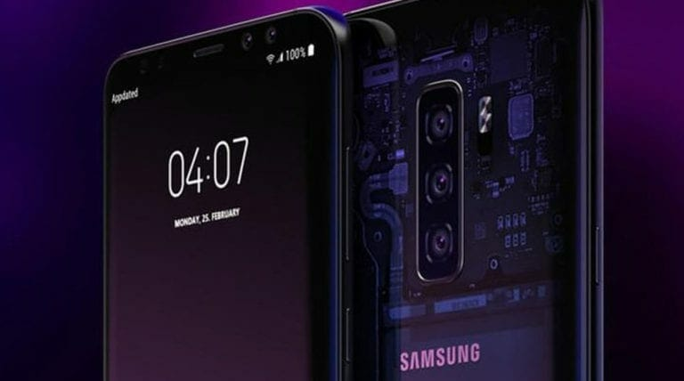 Samsung Patent for Galaxy S10