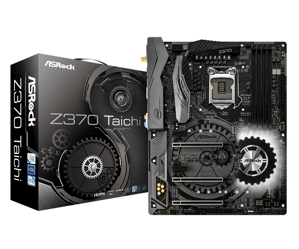 ASROCK Z390 Taichi Motherboard details Leaked on SiSofware running a core i9 9900K