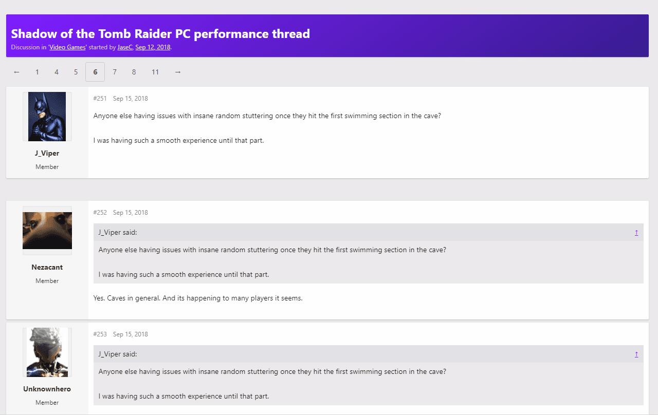 New Hotfix fixes Shadow of the Tomb Raider Crash on Nvidia