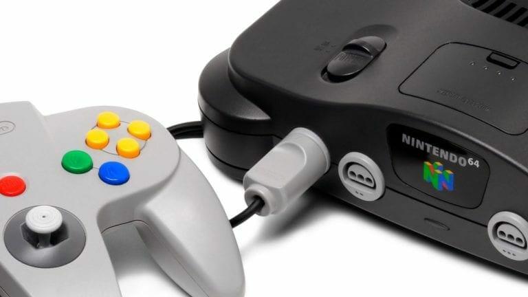 Nintendo 64 Mini leaked image