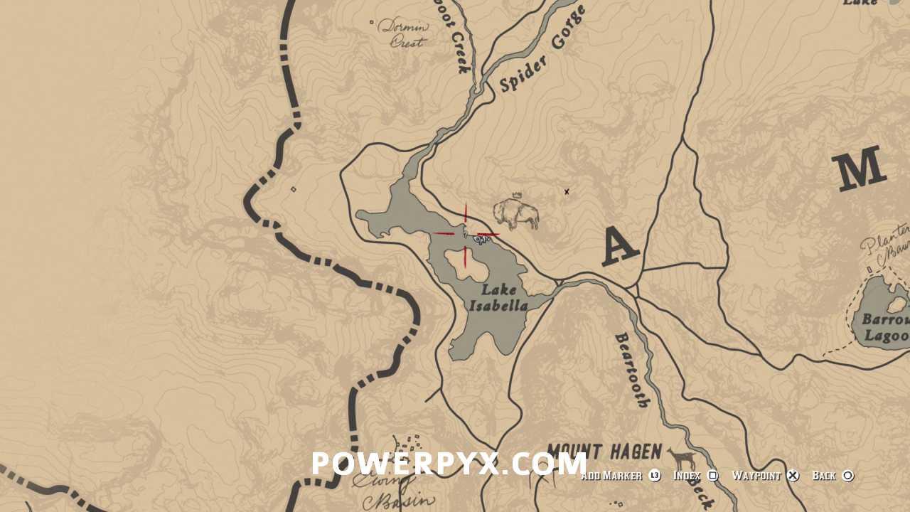 Legendary White Bison Location
