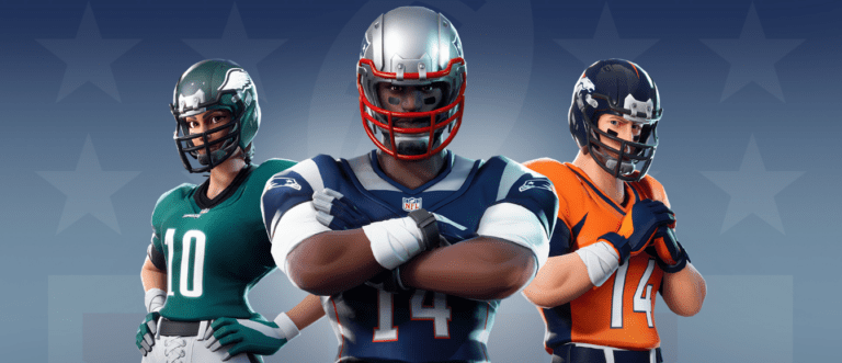 Fornite NFL Skins