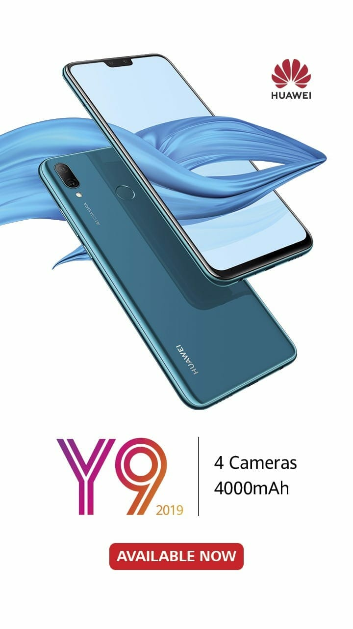 Huawei Y9 2019 Now Available in Pakistan
