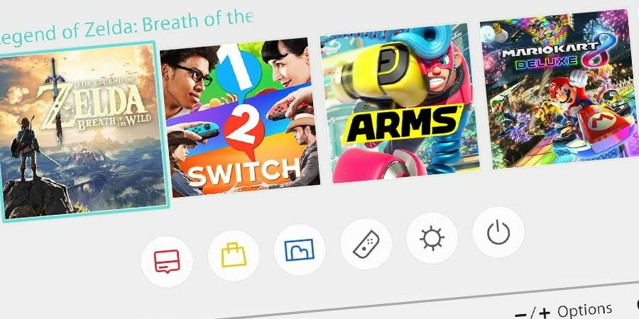 Nintendo Switch Homebrew Features: Themes, External Hard