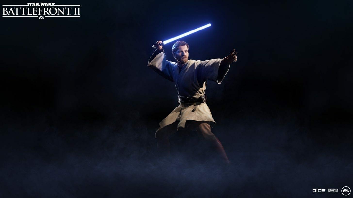 Watch Ewan McGregor Leap Over An Obi-Wan Kenobi Toy