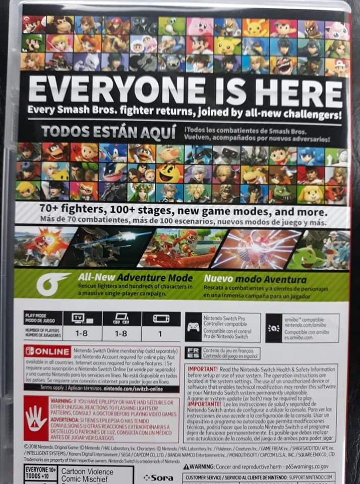 Early Super Smash Bros  Ultimate Copies Leaked, Gameplay and