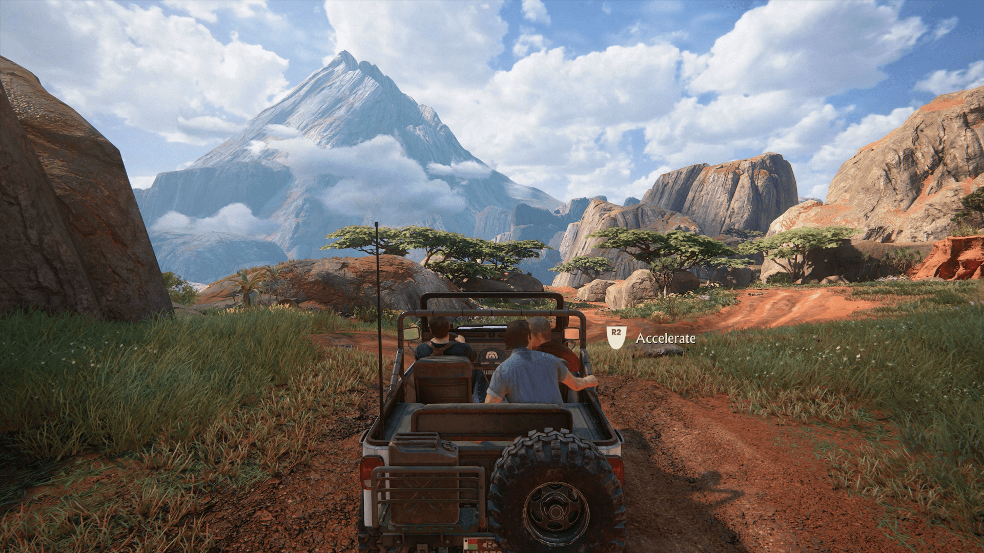 Uncharted 4 PS4 Pro Screenshot