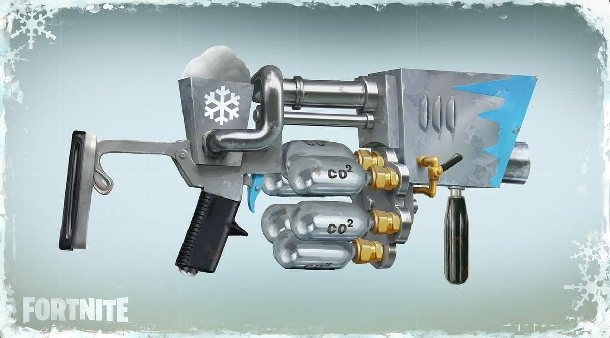 Fortnite Snowball Launcher