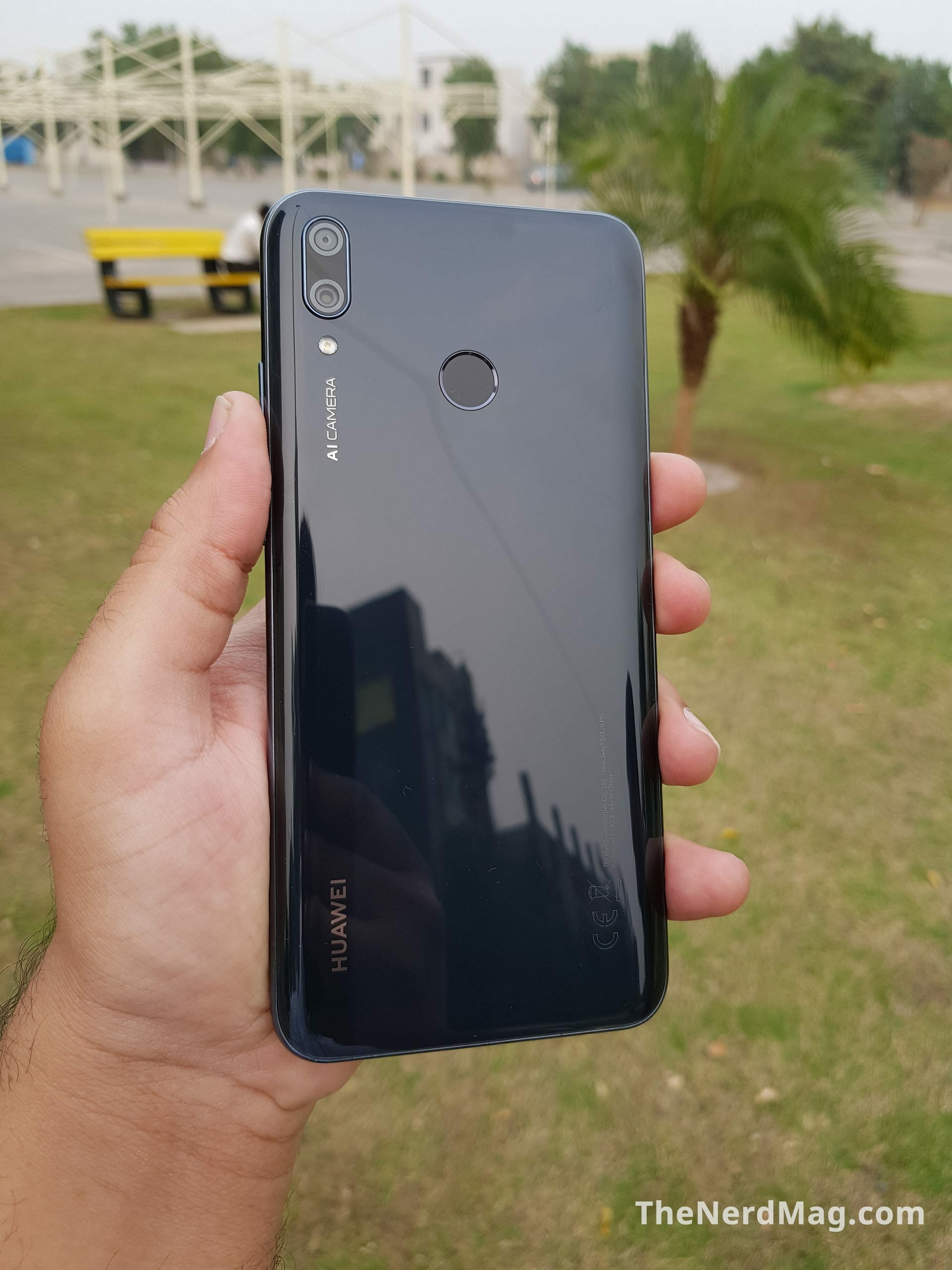 Huawei Y9 2019 Back View