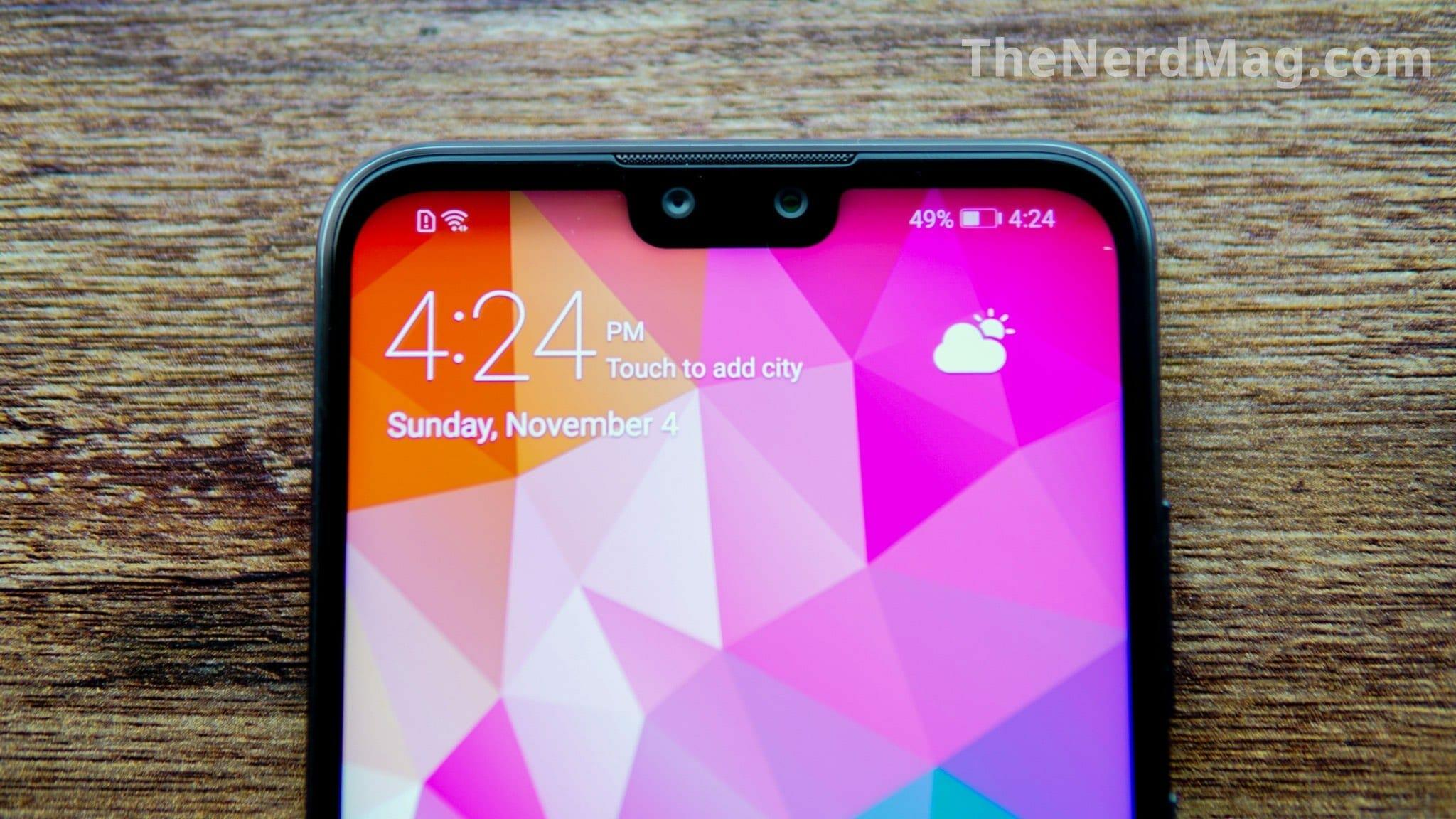 Huawei Y9 2019 Notch