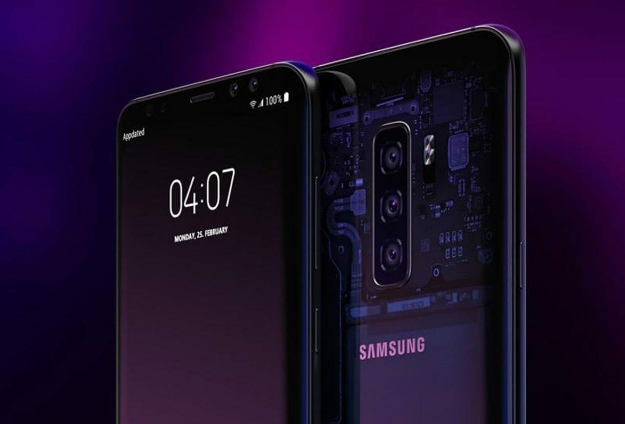 Samsung Galaxy M20 Concept