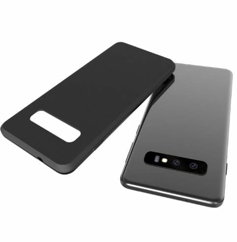 Samsung Galaxy S10 protective cover leak - Samsung Galaxy S10 Lite, S10+ and S10 Camera Configurations Leaked, upto 2 Front and 3 Rear Cameras