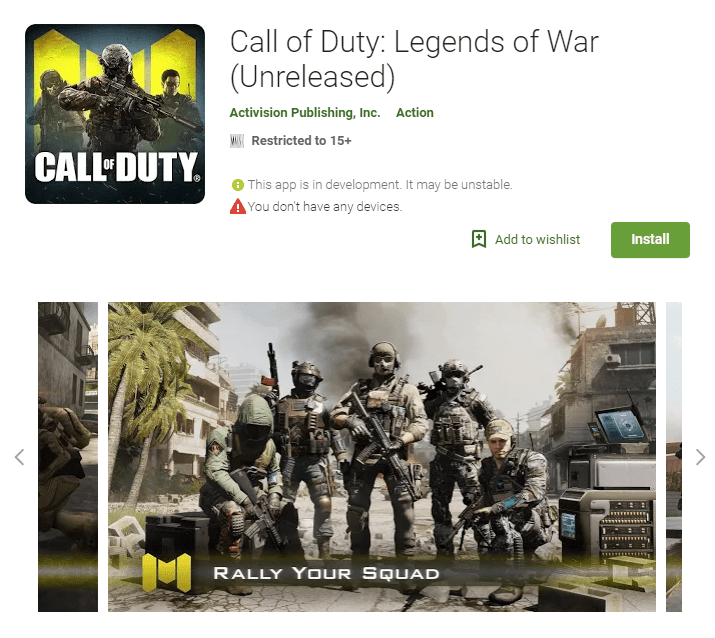 call of duty mobile - Download Call of Duty Mobile: Legend of War Game 1.0.0 APK for Android Phones outside Australia