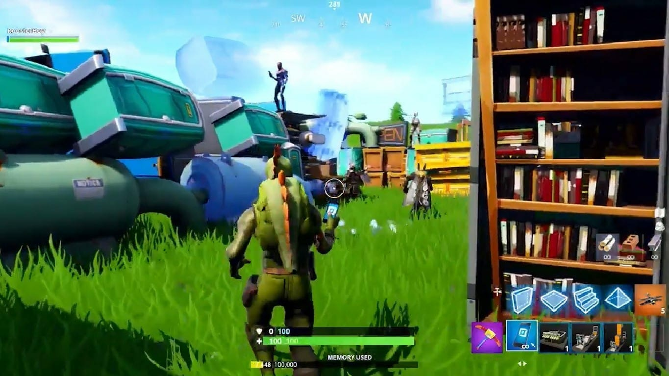 fortnite airplane - Airplane in Fortnite Spotted in Creative Mode Trailer