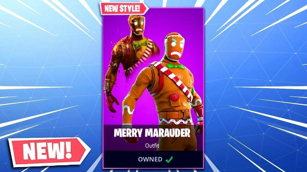 Toasted Merry Marauder Skin Rolling Out For Current Owners Of The